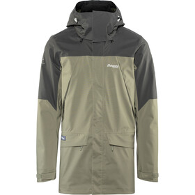 Bergans Breheimen 2L Jacket Herre green mud/solid dark grey/aluminium